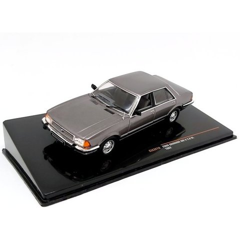 Ford Granada Mk II 2.8 GL 1987 grey metallic - Model car 1:43