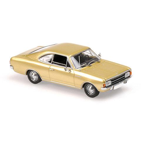 Opel Rekord C Coupe 1966 gold - Modellauto 1:43