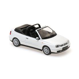 Maxichamps Volkswagen VW Golf IV Cabriolet 1998 white - Model car 1:43