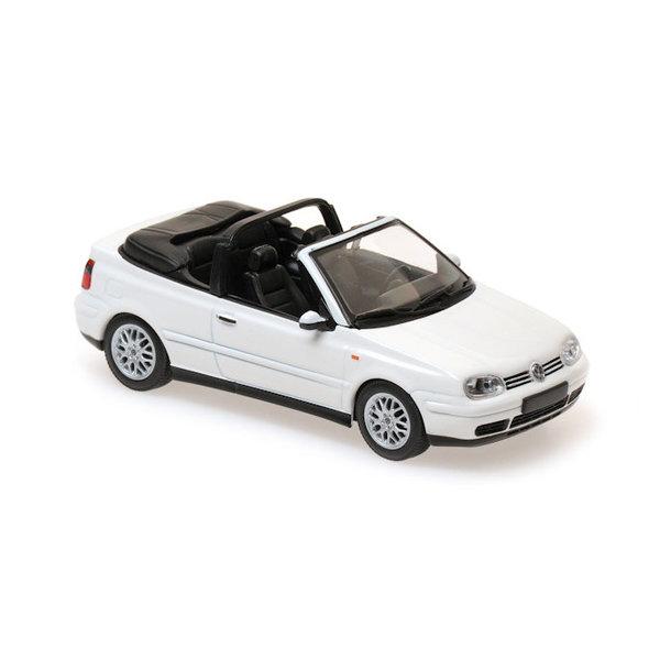 Modelauto Volkswagen VW Golf IV Cabriolet 1998 wit 1:43