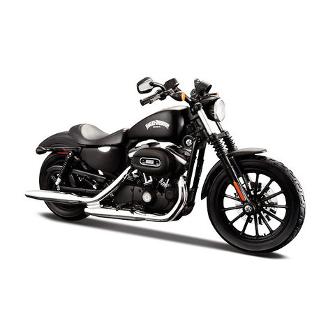 Harley Davidson Sportster Breakout 2014 black - Model motorcycle 1:12