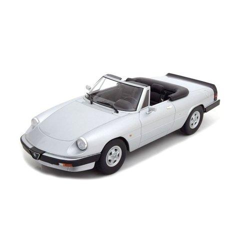 Alfa Romeo Spider 3 series 2 1986 silver - Model car 1:18