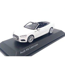 Spark Audi A5 Cabriolet 2017 Tofana white - Model car 1:43