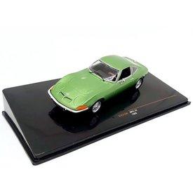 Ixo Models Opel GT 1969 groen metallic - Modelauto 1:43