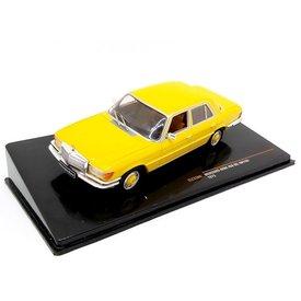 Ixo Models Mercedes Benz 450 SEL (W116) 1975 geel - Modelauto 1:43