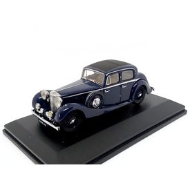 Oxford Diecast Jaguar SS 2.5 Saloon dark blue - Model car 1:43