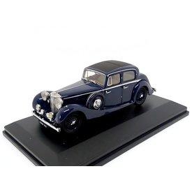 Oxford Diecast Jaguar SS 2.5 Saloon dark blue - Model car 1:43