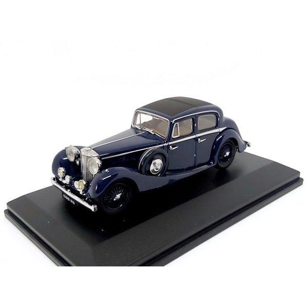 Modelauto Jaguar SS 2.5 Saloon donkerblauw 1:43 | Oxford Diecast