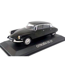 Atlas | Modelauto Citroën DS 21 zwart 1:43