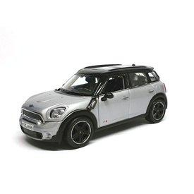 Maisto Mini Countryman 2011 zilver/zwart - Modelauto 1:24