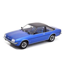 Modelcar Group Opel Manta B Berlinetta 1975 blau metallic/schwarz - Modellauto 1:18