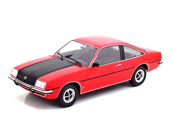 1:18 MCG Opel Manta B SR 1975 red//flatblack