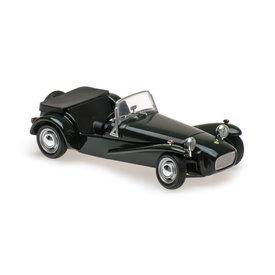 Maxichamps Modelauto Lotus Super Seven 1968 groen 1:43