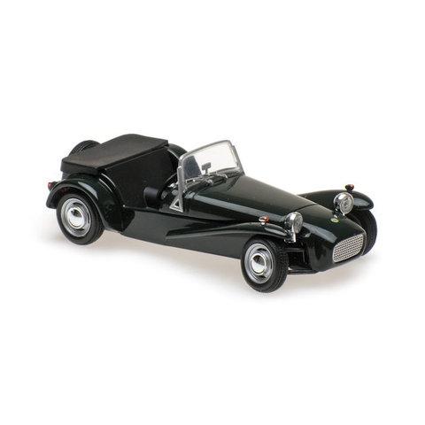 Lotus Super Seven 1968 groen - Modelauto 1:43
