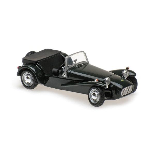 Lotus Super Seven 1:43 groen 1968 | Maxichamps