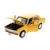 Modelauto Datsun 510 1971 geel 1:24