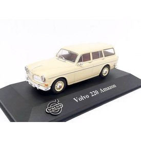 Atlas Volvo 220 Amazon creme - Modellauto 1:43