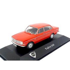Atlas Volvo 144 1971 rood - Modelauto 1:43