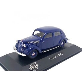 Atlas Volvo PV52 1938 blauw - Modelauto 1:43