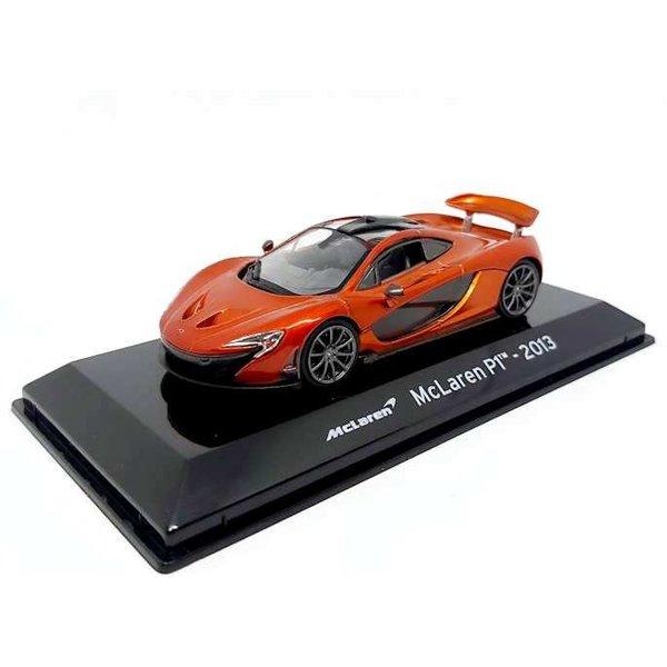Model car McLaren P1 2013 orange metallic 1:43