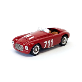 Art Model Ferrari 166 MM No. 711 1950 rot - Modellauto 1:43