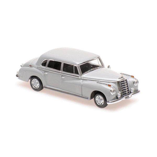 Modelauto Mercedes Benz 300 (W186) 1951 grijs 1:43   Maxichamps