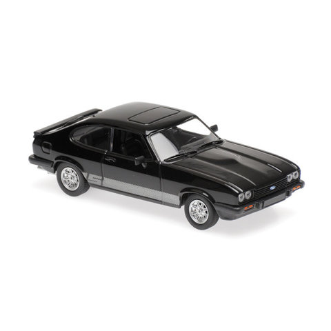 Ford Capri 1982 black - Model car 1:43