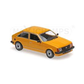 Maxichamps Opel Kadett D 1979 oranje - Modelauto 1:43
