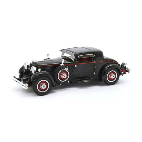 Stutz Model M Supercharged Lancefield Coupe 1930 black - Model car 1:43