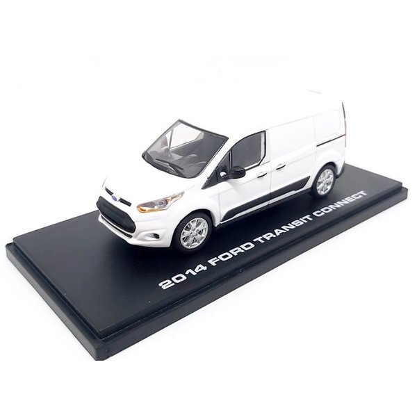 Model car Ford Transit Connect 2014 white 1:43