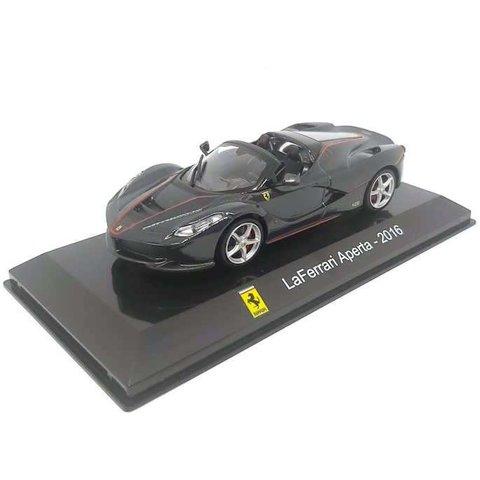 Ferrari LaFerrari Aperta 2016 grey metallic - Model car 1:43
