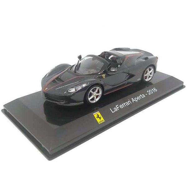 Modelauto Ferrari LaFerrari Aperta 2016 grijs metallic 1:43