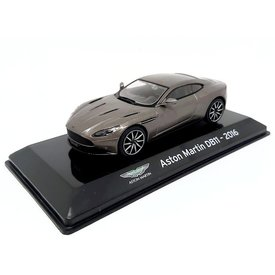 Altaya |  Modelauto Aston Martin DB11 2016 grijs metallic 1:43
