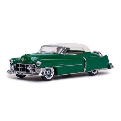 Cadillac Eldorado Convertible 1953 groen metallic - Modelauto 1:43