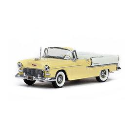 Vitesse Model car Chevrolet Bel Air Convertible 1955 yellow/white 1:43
