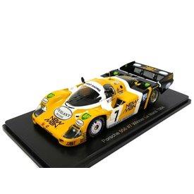 Spark Porsche 956 no. 7 (New Man) 1984 - Model car 1:43