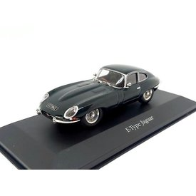 Atlas Jaguar E-type Coupe 1961 racing grün - Modellauto 1:43