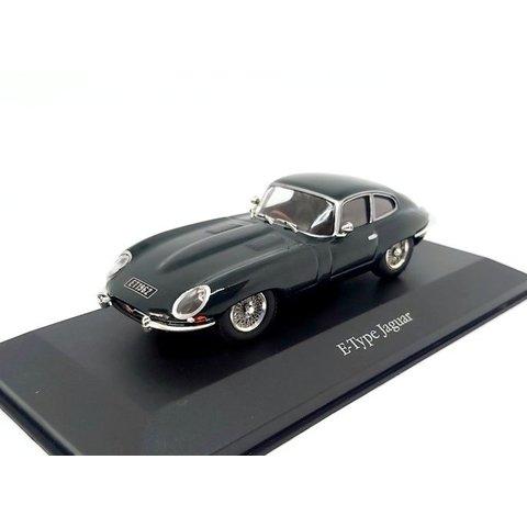 Jaguar E-type Coupe 1961 racing grün - Modellauto 1:43
