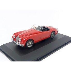 Oxford Diecast Model car Jaguar XK150 Roadster red 1:43