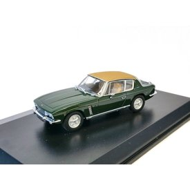 Oxford Diecast Jensen Interceptor Mk III green - Model car 1:43