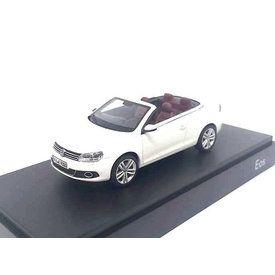 Kyosho Volkswagen VW Eos 2011 white - Model car 1:43