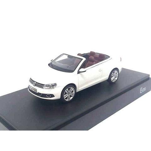 Volkswagen Eos 2011 white - Model car 1:43