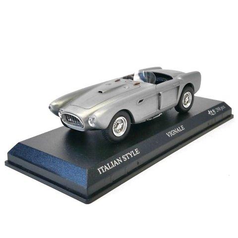 Ferrari 340 Mexico Spyder 1952 silver - Model car 1:43