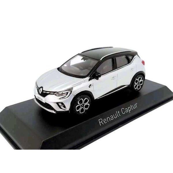 Modelauto Renault Captur 2020 zilver/zwart 1:43