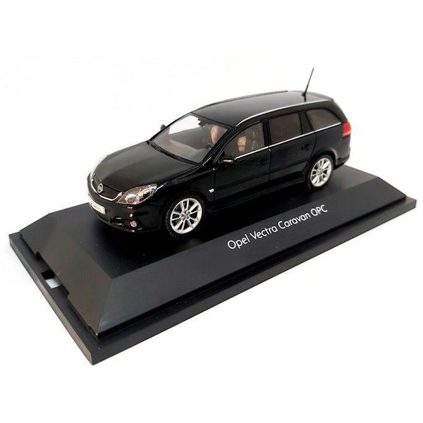 Model car Opel Vectra Caravan OPC black 1:43