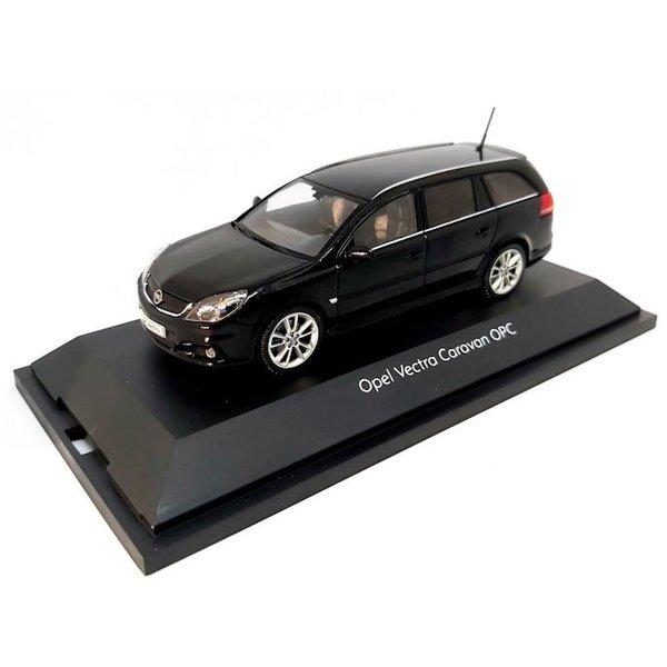 Modelauto Opel Vectra Caravan OPC zwart 1:43