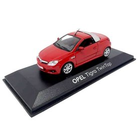 Minichamps Opel Tigra TwinTop rood - Modelauto 1:43