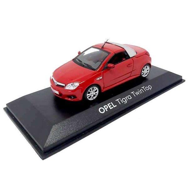 Modelauto Opel Tigra TwinTop rood 1:43 | Minichamps