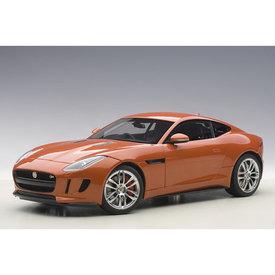 AUTOart Jaguar F-type R Coupe 2015 Firesand metallic - Modelauto 1:18