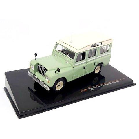 Land Rover 109 Station Wagon Serien II 1958 hellgrün/beige - Modellauto 1:43